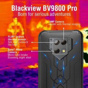 Blackview BV9800 Pro Cámara Térmica, 48MP, 6GB+128GB