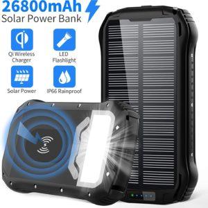 Cargador Solar Batería Externa