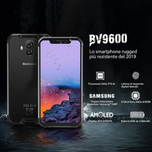 Blackview BV9600 Android 9.0  64GB Carga inalámbrica