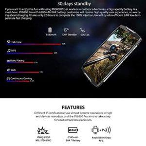 Blackview BV6800 Pro 4GB+64GB Bateríade BAK