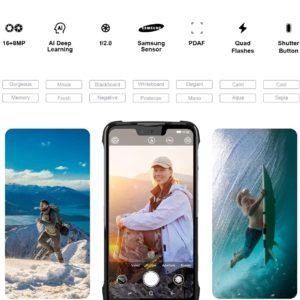 DOOGEE S90 C Dual SIM 4+64GB Android 9.0