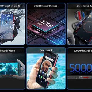 Ulefone Armor X3 con Modo Submarino, Android 9.0 2GB + 32GB